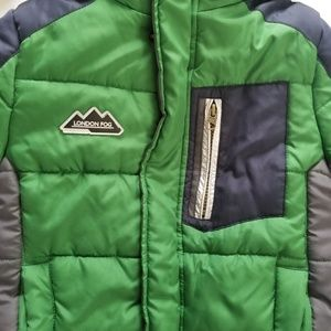 London Fog Jackets & Coats - 💙 HP 💙• London Fog Puffy Jacket • sz M(kids 5/6)